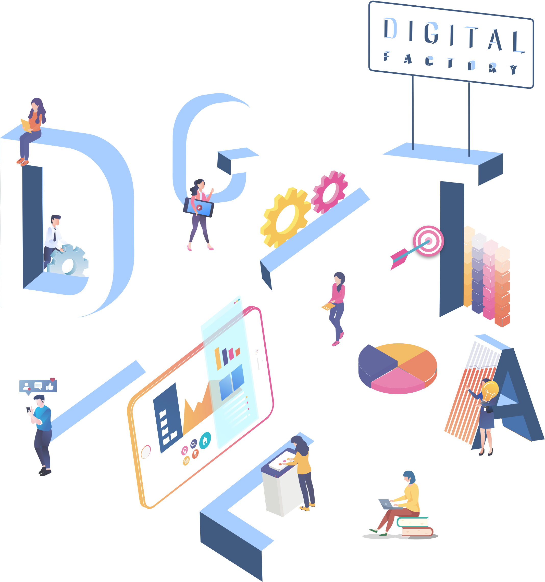 Digital Factory Digital Agency Cover page